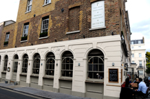 Immediately recognizable with it's Greek style Doric columned façade The Pantechnicon in Knightsbridge offer a number of well appointed function rooms and is a lovely London wedding venue