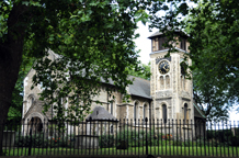 St Pancras Old Church is an ancient London wedding venue with historical associations with Charles Dickens, Thomas Hardy and The Beatles
