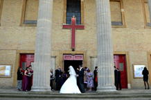 With its prominent position, it's commanding fluted columns and rising tower, its memorial gardens and friendly bishop St Luke's Church West Norwood is a fabulous London wedding venue