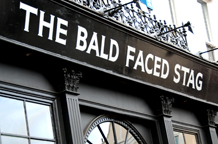 The Bald Faced Stag East Finchley is a friendly and welcoming and relaxing gastro pub with a large dining function room and  patio garden area making a  great London wedding venue