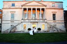 The stunning Grade l listed London wedding venue Parkstead House a wonderful Palladian style Villa situated in Roehampton beside Richmond Park