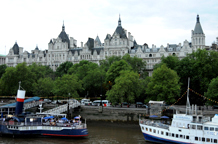 The 5 star Royal Horseguards Hotel at One Whitehall Place a stunning Grade l listed London wedding venue modelled on a French chateau and situated by The Thames