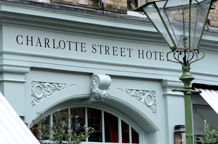 The Charlotte Street Hotel situated in trendy Ad land SoHo is a beautifully appointed, relaxed and tranquil London wedding venue